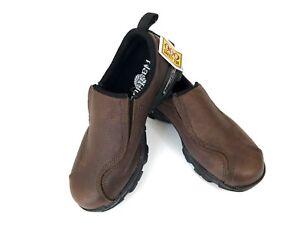 bcd20b5054c4 Nautilus N1621 Brown Slip-On ESD Shoes Steel Toe Work Wear Casual ...
