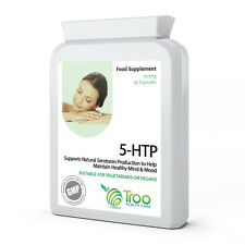 5HTP 5-hydroxytryptophan 100mg 90 Capsules - Support Serotonin Production & Mood