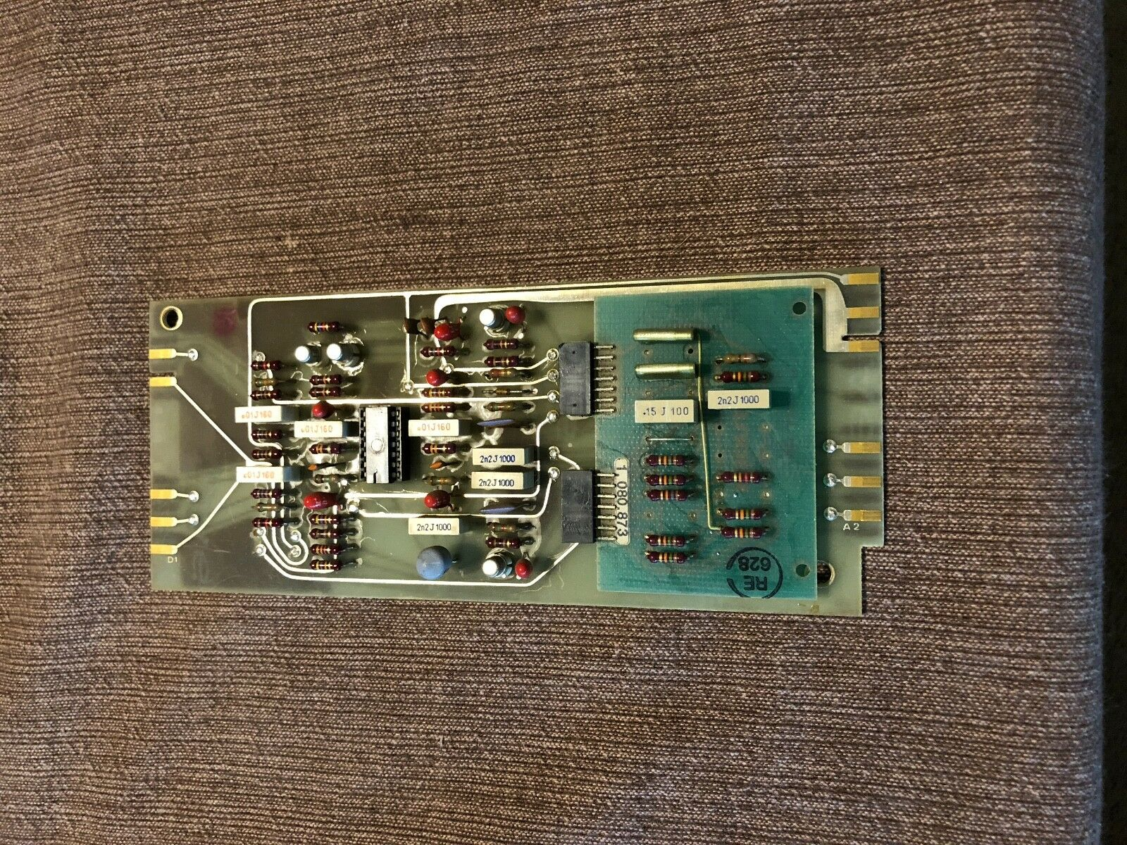 Studer 1.080.873 part for A80 tape recorder, TBA931 IC, as is, as pictured
