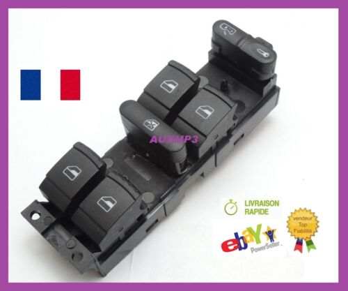 COMMANDE DE LEVE VITRE 1J4959857B 1J4959857D GROUPE VW SKODA AUDI VW SEAT