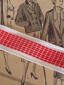 ANCIEN GALON JEHANNE BLANC ROUGE vendu au mètre hGrJBN9K-09095505-148914864