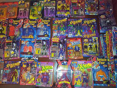MARVEL DC SPIDERMAN BATMAN X MEN FIGURES LOTS TO CHOOSE FROM NEW