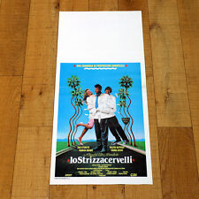 LO STRIZZACERVELLI locandina poster Dan Aykroyd Matthau The Couch Trip AG16