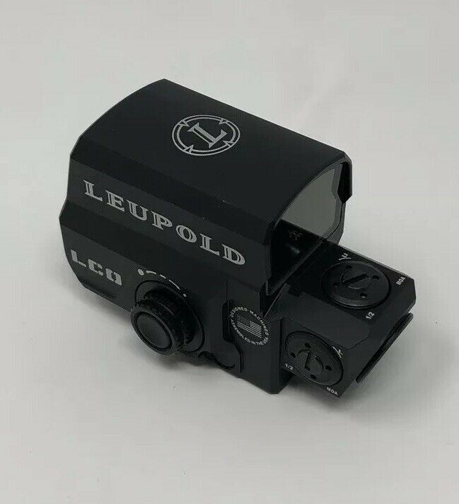 Airsoft Leupold Cocheabina óptica (LCO) táctica Rojo verde Visor De Punto Holográfico Nuevo