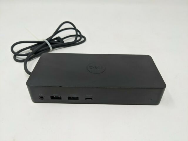 Dell D6000 M4TJG USB-C Docking Station Dock Only No AC Adaptor Power