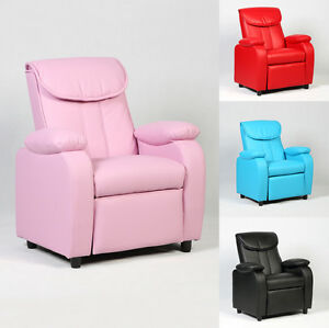 Image Is Loading Kid Recliner Sofa Armrest Chair Couch Lounge Children