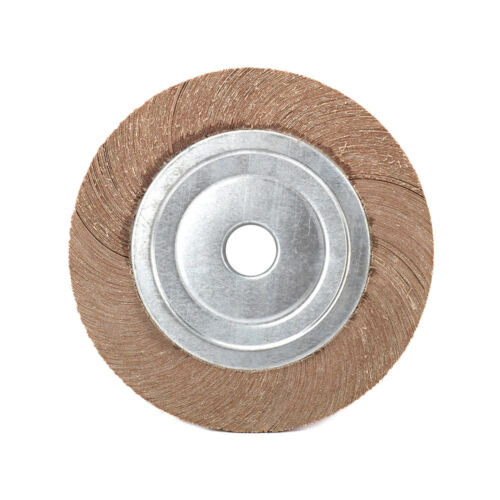 "1Pc 10/"" 250mm Abrasive Flap Grind Wheel Sanding Disc 80//120//150//320 Grit New"