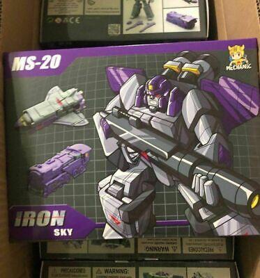 IN STOCK Transformation MFT MS-20 Iron Sky Astrotrain Mini Action Figure