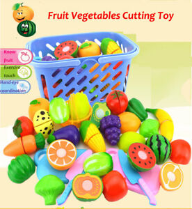 23Pcs-Set-Food-Pretend-Role-Play-Toys-Kitchen-Cutting-Fruit-Vegetable-Kids-Gift
