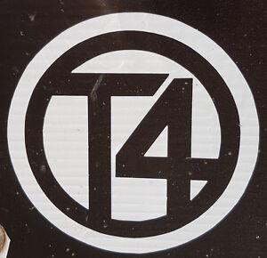 vw t4 logo circle sticker 500mm t4 van bus camper vw volkswagen californian ebay. Black Bedroom Furniture Sets. Home Design Ideas