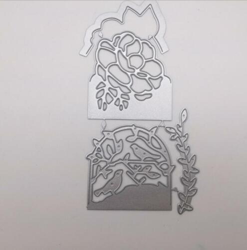 Flower bird olive leaf rose Dies Metal cutting dies Craft die cutter mold stenci