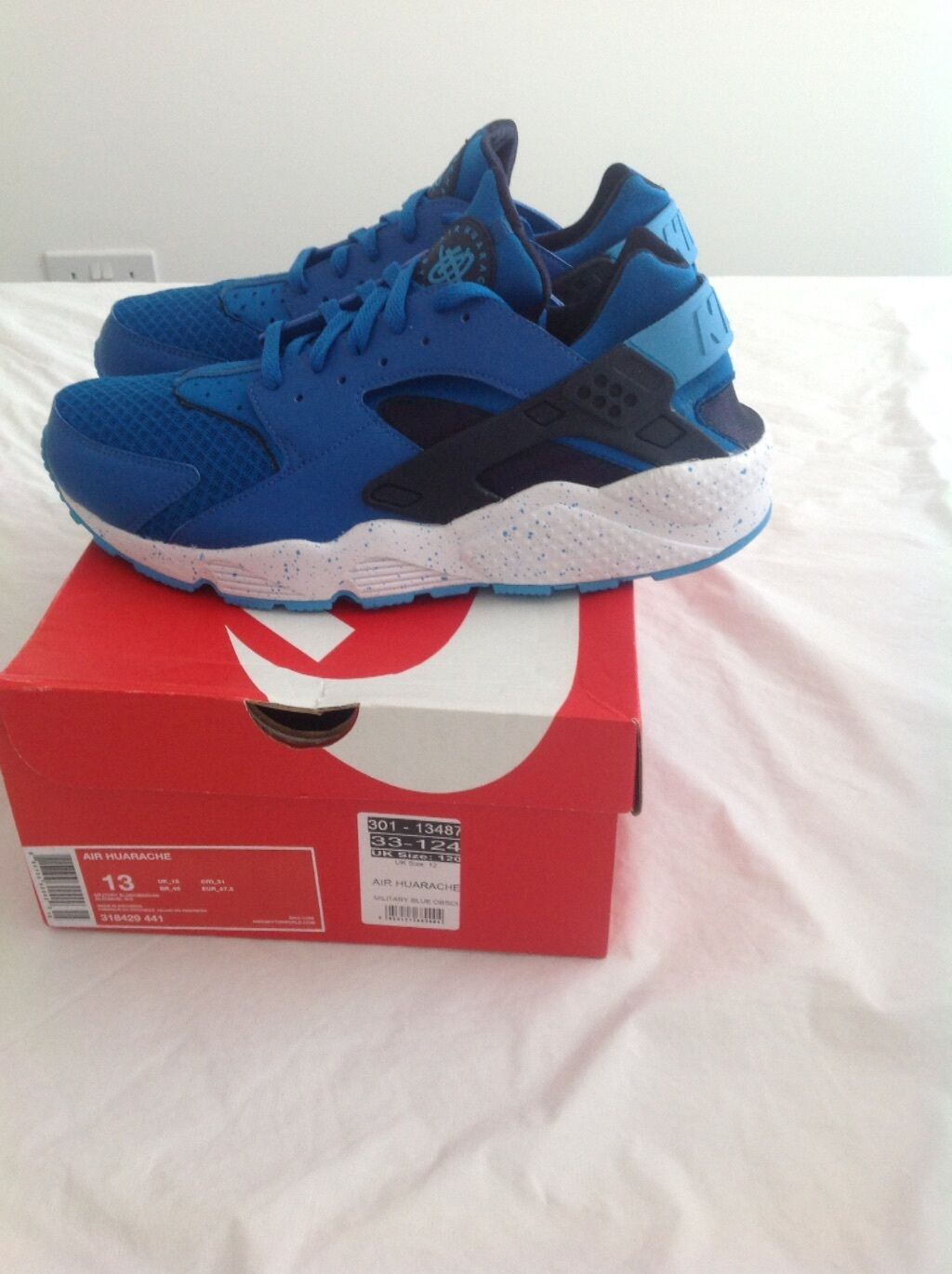 Nike DS Air Huarache Military Blue DS Nike 5fe4d8