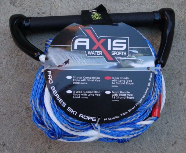 Axis - 75Ft Ski Rope and Handle - Long V