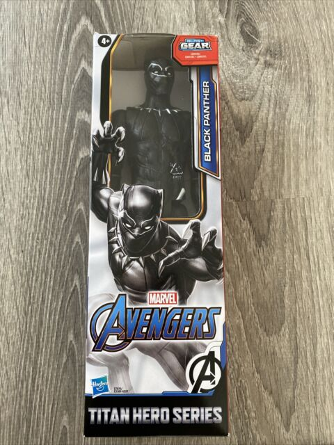 "Marvel Avengers Titan Hero Series Blast Gear Black Panther 12"" Action Figure NEW"