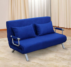 Charmant La Foto Se Está Cargando 2 Person Folding Futon Sleeper Sofa  Bed Convertible