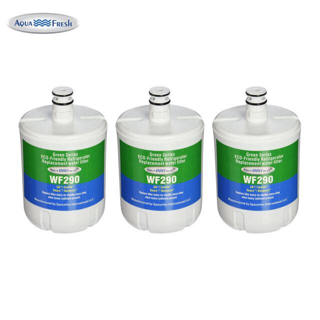 Fits Whirlpool ED5PHEXNQ00 Refrigerators Aqua Fresh Replacement Water Filter