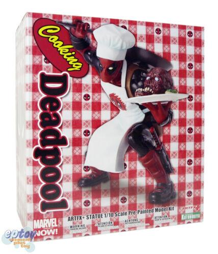 Kotobukiya ARTFX+STATUE Marvel Now Cooking Deadpool 1//10 Figure