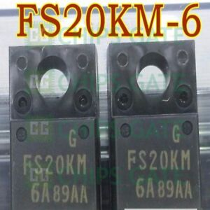 2PCS-MITSUBIS-FS20KM-6A-TO-220-Nch-POWER-MOSFET-HIGH-SPEED-IC