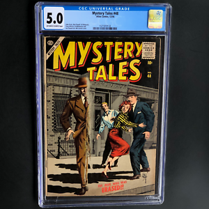 MYSTERY-TALES-48-Atlas-1956-CGC-5-0-OW-W-ONLY-22-in-CENSUS-EVERETT-Cvr