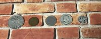 Estate Lot of 5 Iconic U.S. Coins Including 90% Silver