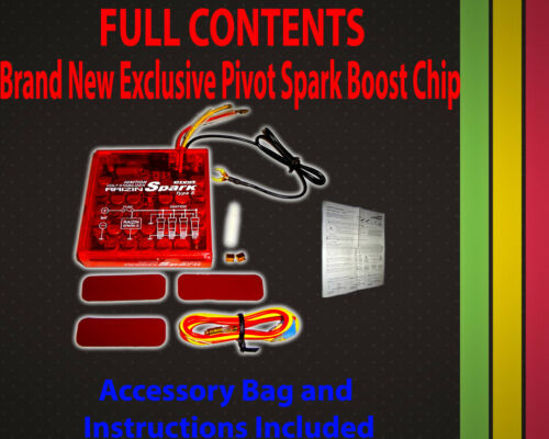 Chevy Pivot Spark Performance Ignition SS Boost-Volt Engine Power Speed Chip NEW