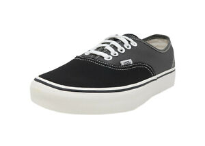 VANS-Authentic-Vintage-2-Tone-Black-Charcoal-Lace-Up-Sneakers-Adult-Men-Shoes