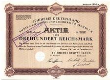 Spinnerei Deutschland  1927  Gronau