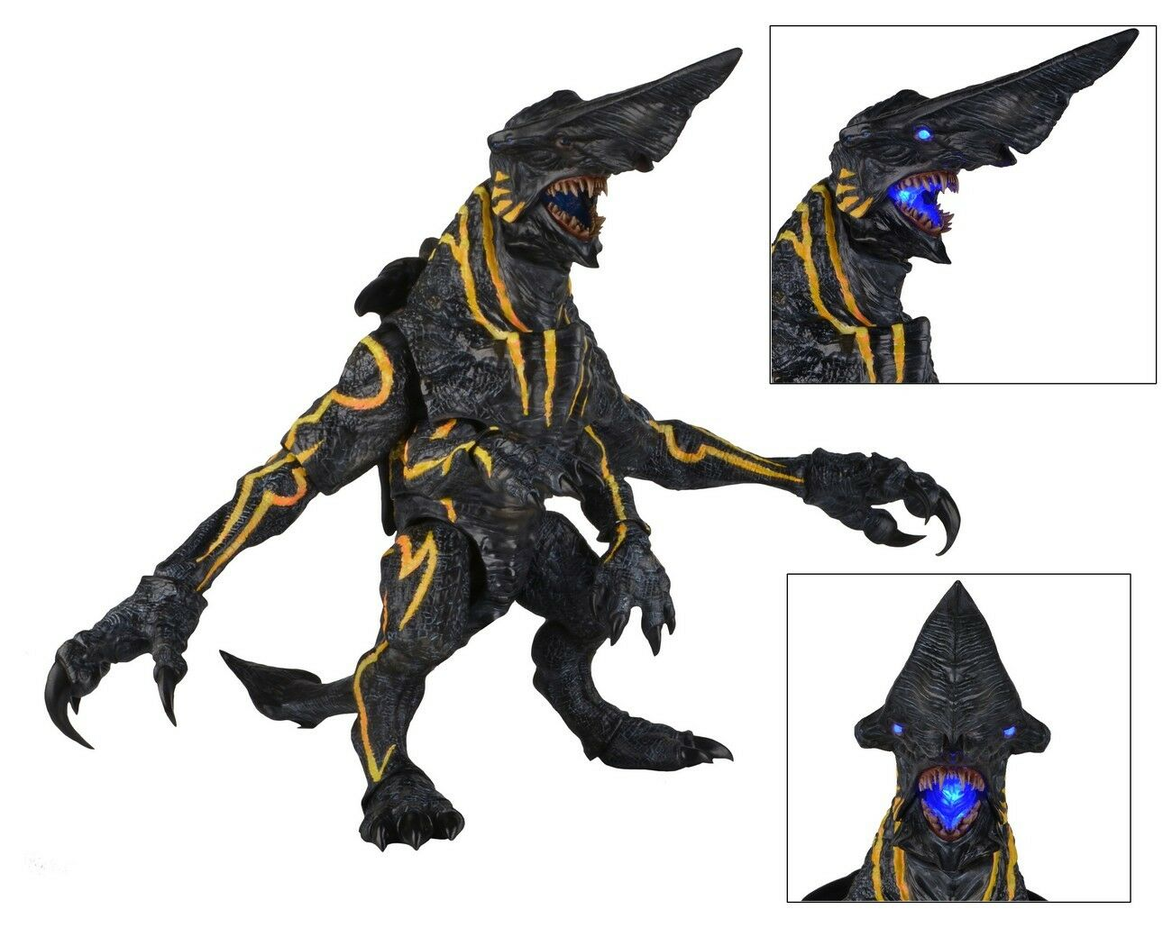 Authentic NECA Pacific Rim Kaiju Kaiju Kaiju Knifehead 18