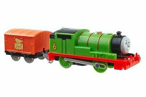 Thomas & Friends TRACKMASTER PERCY Motorized Train & Car Fisher Price BML07