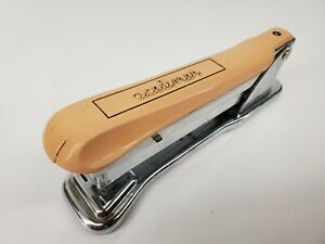 Vintage Aseliner #502 Stapler Ace Liner Black Office Made in the USA Chicago ILL