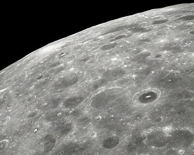 New 5x7 NASA Photo Far Side of the Moon Lunar Surface from Apollo 8-1968