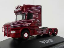 Scania hauber Topline 6x4 tractor pájaros 1/87 Herpa 110716 rigid tractor