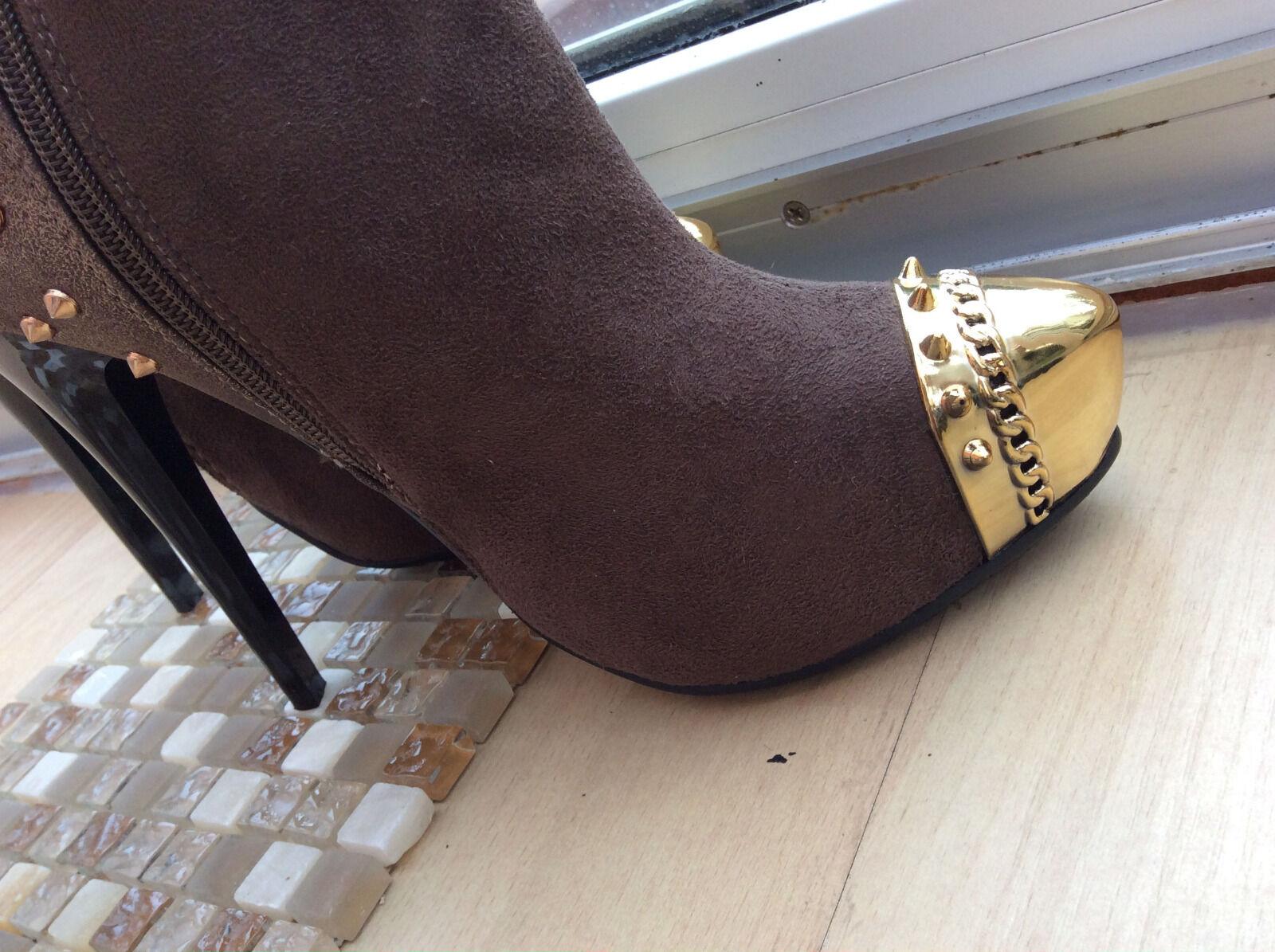 Nuevo botas LUJO sergio todzi altas botas Nuevo plataforma tacón alto 255343