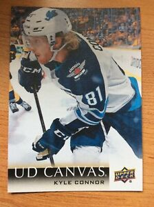 UPPER-DECK-2018-2019-SERIES-TWO-CANVAS-KYLE-CONNOR-HOCKEY-CARD-C-208