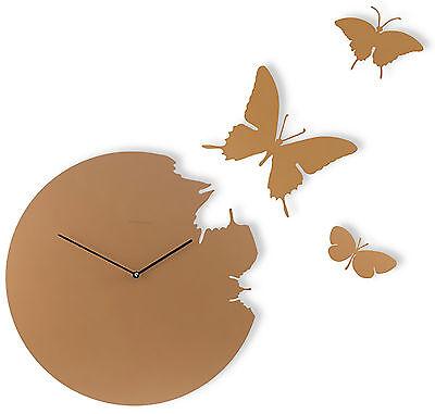 DIAMANTINI & DOMENICONI - Butterfly Orologio con 3 farfalle cm 40 Made in Italy