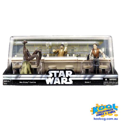 Star wars - trilogie mos eisley cantina bar - szene   moc  1