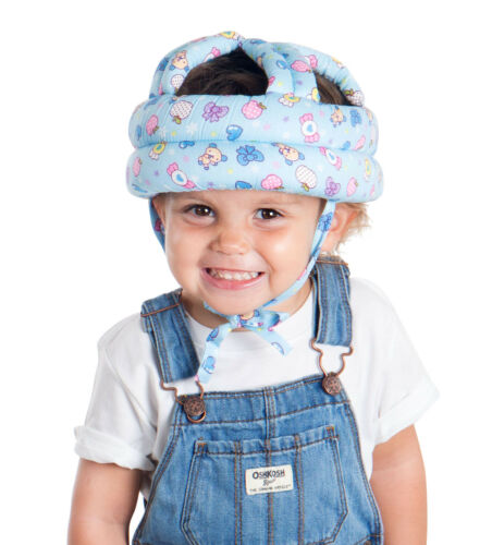 Baby Toddler Infants No Bumps Walk Safety Warm Cap//Hat Helmet Headguard Protect