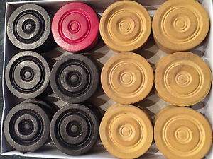 Details about NEW TOURNAMENT WOODEN CARROM COINS CARROM STRIKER+FREE  SHIPPING UK SELLER