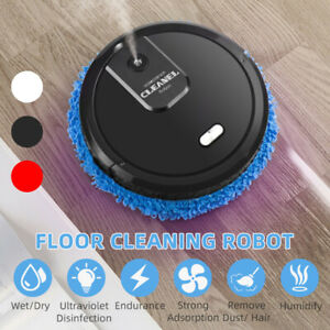 Mopping Sweeping Robot Home Vacuum Cleaner Floor Washing Wiping Machine Wet &Dry
