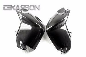2005 - 2012 BMW K1200R / K1300R Carbon Fiber Tank Cover - 2x2 twill weaves