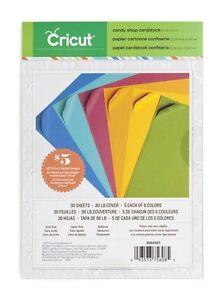CRICUT-Paper-8-5-034-x-12-034-Cardstock-Candy-Shop-2002007