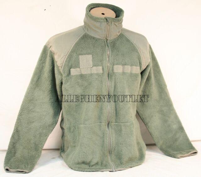 Flame Resistant Polartec Fleece Jacket Liner Military Level 3 Foliage Green