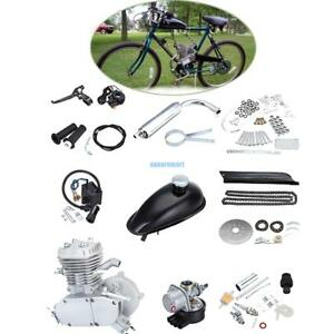 Silver-80cc-2-Stroke-Petrol-Gas-Engine-Motor-Kit-Motorized-Bicycle-Bike-Set