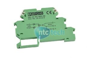 Phoenix Contact SolidState Relay Terminal Block DEKOE5DC48DC