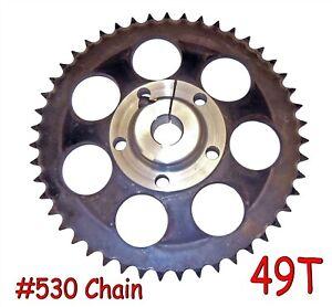 73T Aluminum Axle Sprocket #35 Chain Gear Hub Go Kart Racing Mini Bike Drive Kit