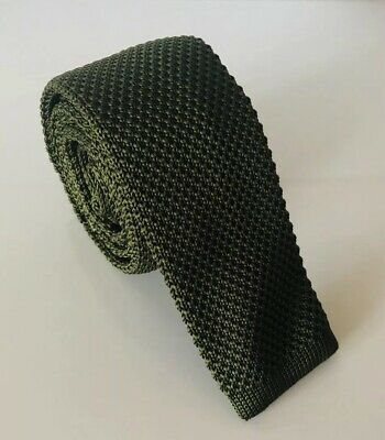 SUPERNOVA Skinny Burgundy Maroon Knitted Silk Tie Mod Indie Narrow 5 cm Scooter