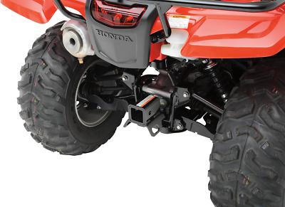"Moose Utility Black Rear 2/"" Receiver Hitch for 00-17 Honda TRX Foreman Rancher"