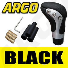 BLACK LEATHER CAR GEAR KNOB CITROEN PICASSO BERLINGO AX