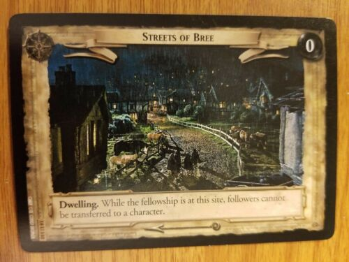 Lord of the Rings TCG Treachery and Deceit 18U140 Streets of Bree CCG LOTR