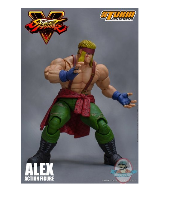 1/12 Street Fighter V Alex Action Figure Storm Collectibles STM87054